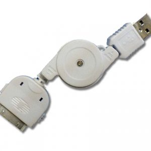 Retractable iPod / iPad / iPhone to USB Cable