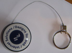 Large Retractable Key Chain