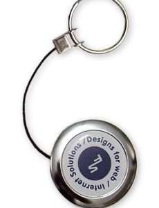 Retractable Metal Key Chain