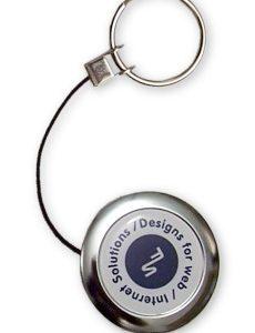 Retractable Metal Key Chain