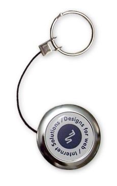 Retractable Metal Key Chain-0