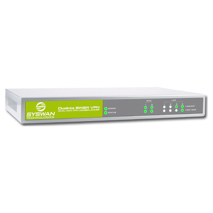 SW24VPN Dual WAN Router