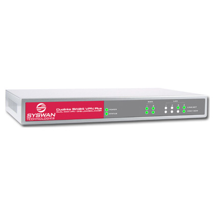 SW24VPN Plus Dual WAN Router